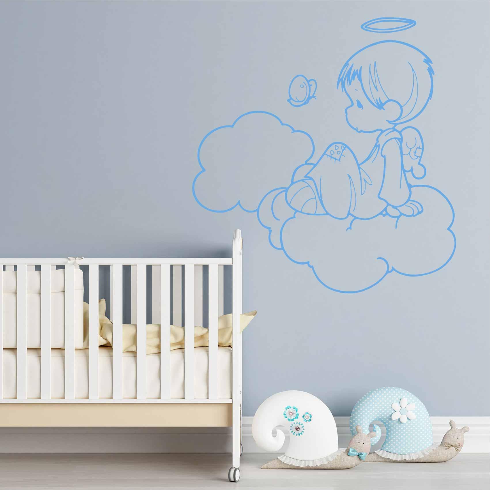 Stickers bébé : Comment décorer entièrement la chambre ?